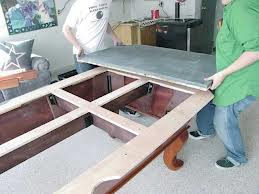 Pool table moves in Rockford Illinois