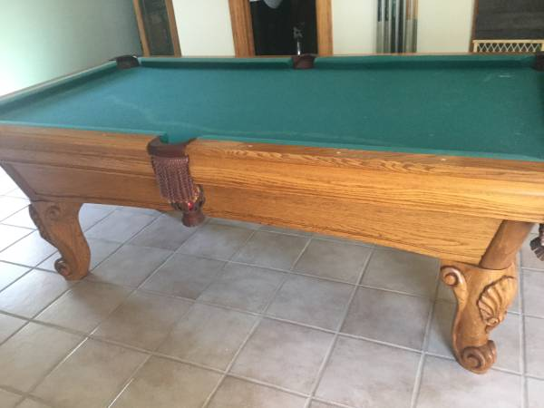 Pool Tables For Sale In Illinois Rockford Pool Table Movers - Brunswick bradford pool table