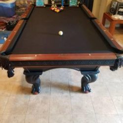 American Heritage Pool Table 4'x8'