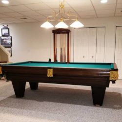 Vintage Brunswick Heritage Pool Table