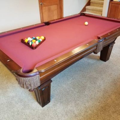 Olhausen Augusta Solid Maple 7 ft Pool Table